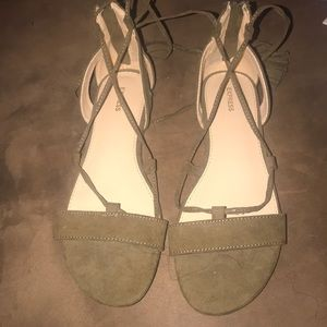 Never wore sandal from Express